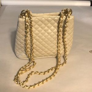 Lord and Taylor crossstich patter crossbody bag